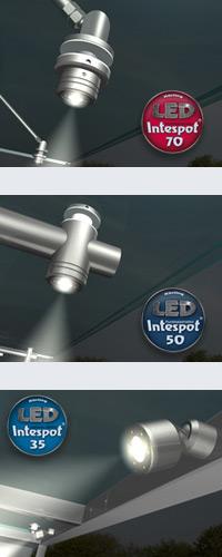 Unsere LED - Module Intespot 35, Intespot 50 und Intespot 70